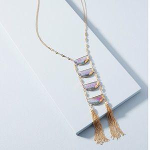 Anthropologie Ladder Necklace